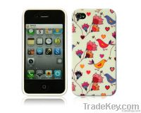 Scenery flowers mobile phone protection case