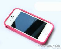 Beauty pattern silica gel mobile phone protective case