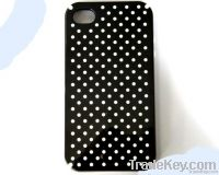 Wave point silica gel mobile phone protective case