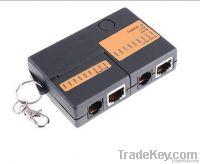 Mini RJ45 RJ11 Cat5 Network LAN Cable Tester with KeyChain 9 LEDs