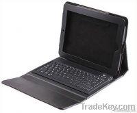 2 in 1 2.0 Wireless Bluetooth Keyboard + Leather Case