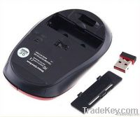 Wireless Portable Optical Mouse USB Receiver RF 2.4GHz For Laptop PC