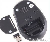 RF 2.4GHz Wireless Portable Optical Mouse USB Receiver