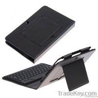 "Wireless Bluetooth Keyboard & PU Leather Case for 7"" BlackBerry Playbo"