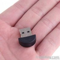 Smallest 2.0 Mini USB Bluetooth Adapter V2.0 EDR USB Dongle