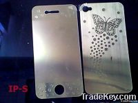 New arrival butterfly clear sreen protector Double stick LCD screen