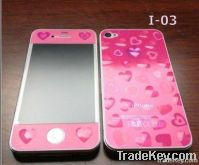 candy color cell phone accessorie screen proterctor for ip4s phone