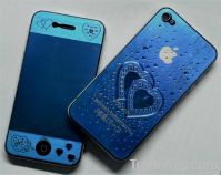heart-shaped Screen protector cleae LCD screen Protector For Ip4s