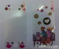 Cute LCD preservative skin for ip4 clear screen protector