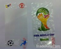 2014 FIFA WORLD CUP pattern clear LCD screen protector