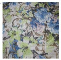 polyester warp printed linings fabric