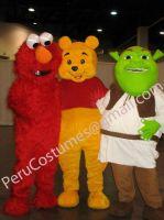 Costume mascots