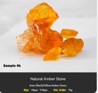 Natural Amber Stone rough  for Sale