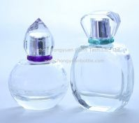 perfume glass bottle, fragrance glass jar, scent glass vial