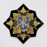 Handmade Bullion Badges | Blazer Badges
