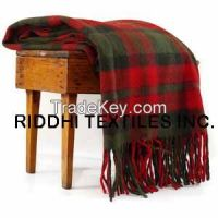 Christmas Woolen Throw