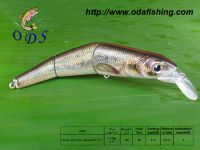 Hard plastic minnow fishing lure bait