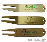 golf divot tool & pitch fork
