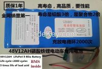 24V 20AH lifepo4 lithium iron phosphate electric bicycle battery