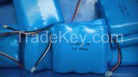 emergency lighting battery 12V 4AH miner lamp battery 3V4.5AH
