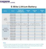 E-bike scooter Li Ion battery 36V 10AH