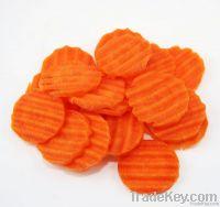 New Season Frozen Carrot Crinkle