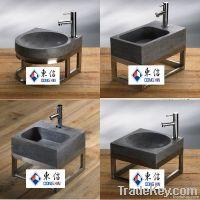 bluestone basin and sink