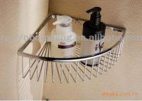 """factory outlets"" QJ8037B-1 stainless steel shower rack"