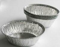 airline aluminum foil food container