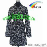fashion ladies raincoat