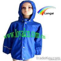 OEM service kids raincoat