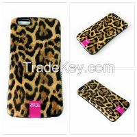 Fashion Sexy Leopard Phone Cover for iPhone 6 Plus 5.5 inch Silicone Protective Cases