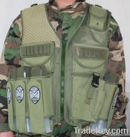 paintball clothing, fingerless glove, Field Back Pack Bag , vests