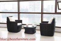 Patio Furniture Good Quality Rattan / Wicker Sofa Set