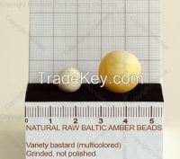 ORIGINAL BALTIC AMBER  FORMED BEADS