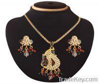 indian brass fashion diamond pendant jewellery