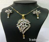 vintage trendy indian fashion antique diamond jewelry pendant