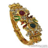 antique fashion designer trendy gold plated bangles