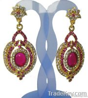 antique fashion party jewelry diamond earrings