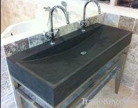 Blue limestone wash basin & sink/ lime stone basin
