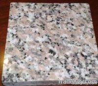 Red granite tile and slab