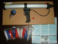 pneumatic caulking gun