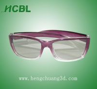 Circular/linear polarized 3D glasses