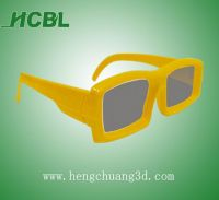 Circular/linear polarized 3D glasses