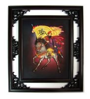 beautiful chinese character frame