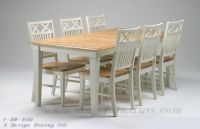 Malaysia rubber wood dining set