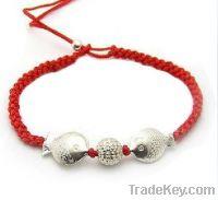 alloy fish natural bracelet