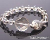 clear crystal fashion bracelet