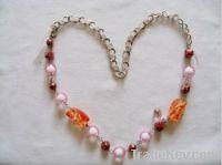 crystal pretty fashion necklace