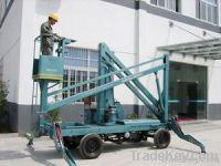 Four Wheel Mobile Arm Lift Table